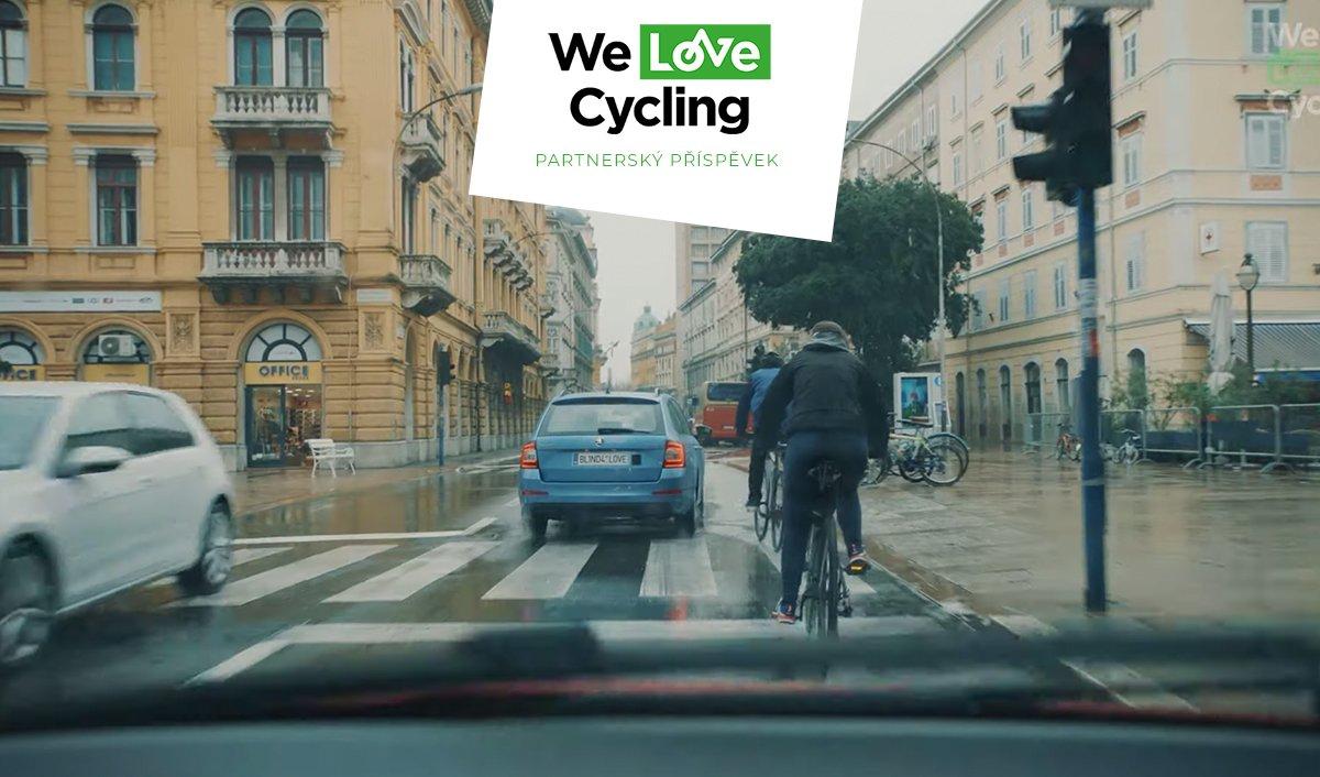 Jak správně předjíždět cyklistu?