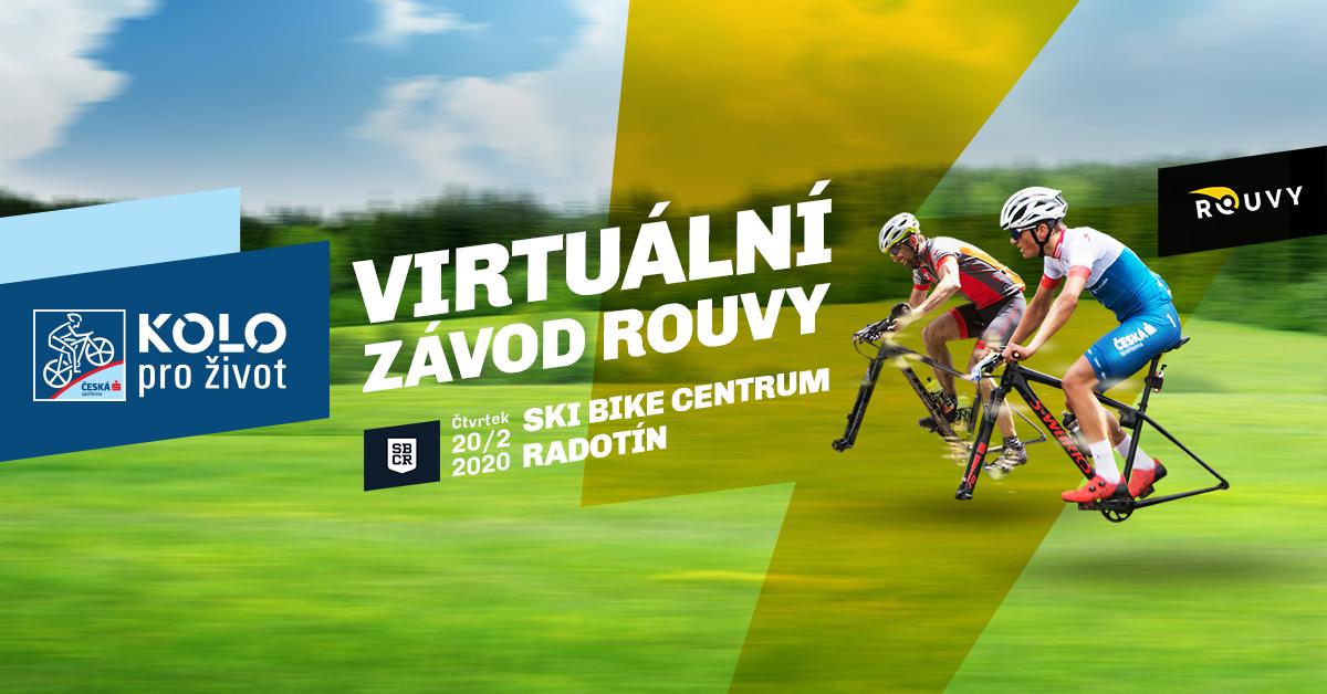 Virtuální závod KPŽ a ROUVY ve SKI BIKE Centru Radotín!
