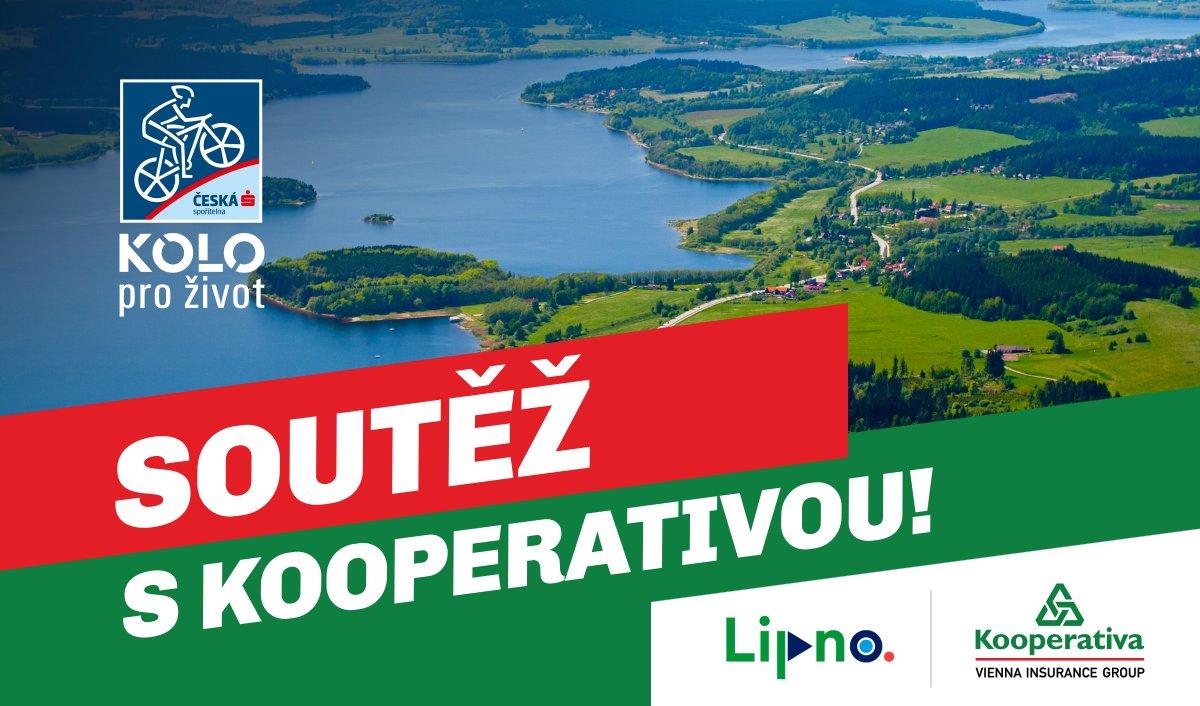 Vyhraj balíček pro celou rodinu na Lipně v rámci měsíční tipovací soutěže s pojišťovnou Kooperativa!