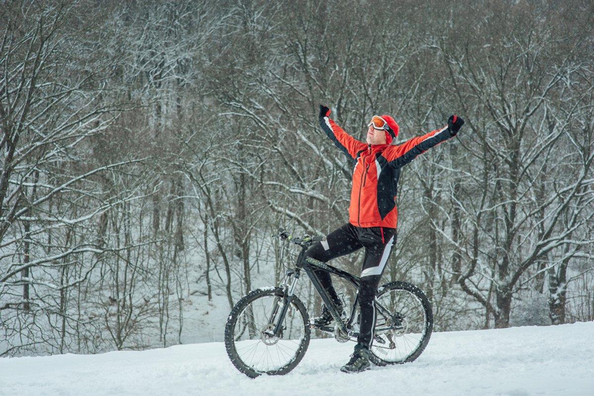 Cyklistický trénink v zimním období
